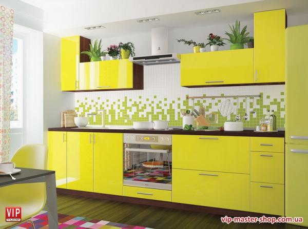"""Кухня """"МоДа"""" Лимон"""