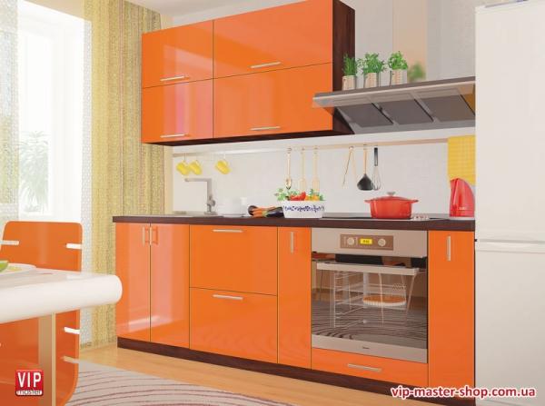 "Кухня ""МоДа"" Оранж"