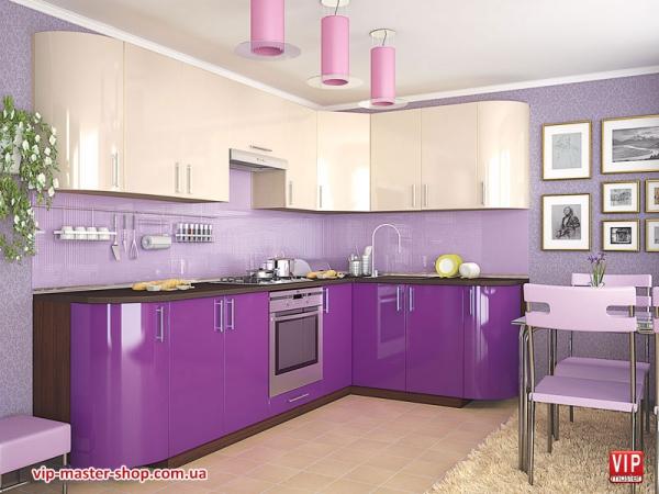 """Кухня """"МоДа"""" Виолетта"""