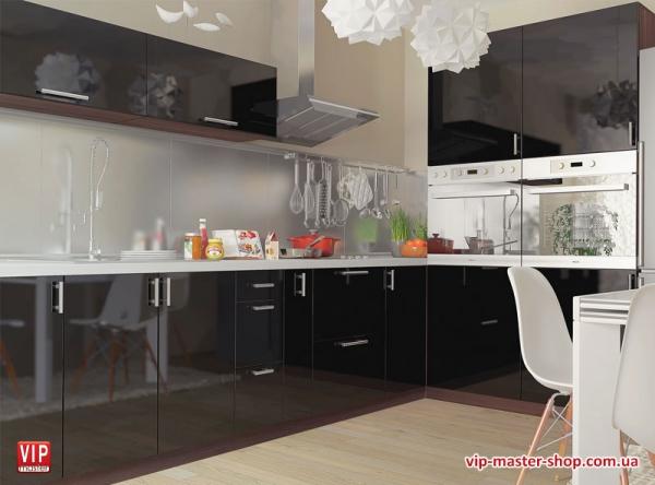 """Кухня """"МоДа"""" Черный"""