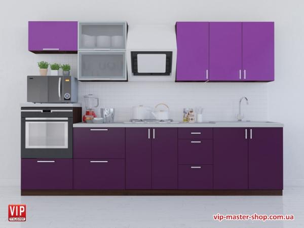 """Кухня """"МоДа"""" Индиго"""