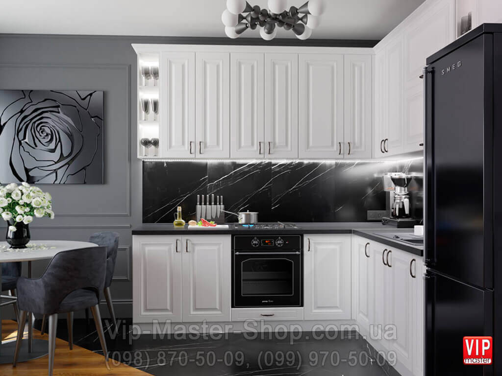 Кухня Bravo Белый - фабрика Вип-Мастер