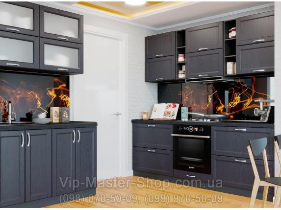 "Кухня ""Кредо"" Темно-коричневый"