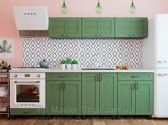 "Кухня ""Модена"" Темно-зеленый"