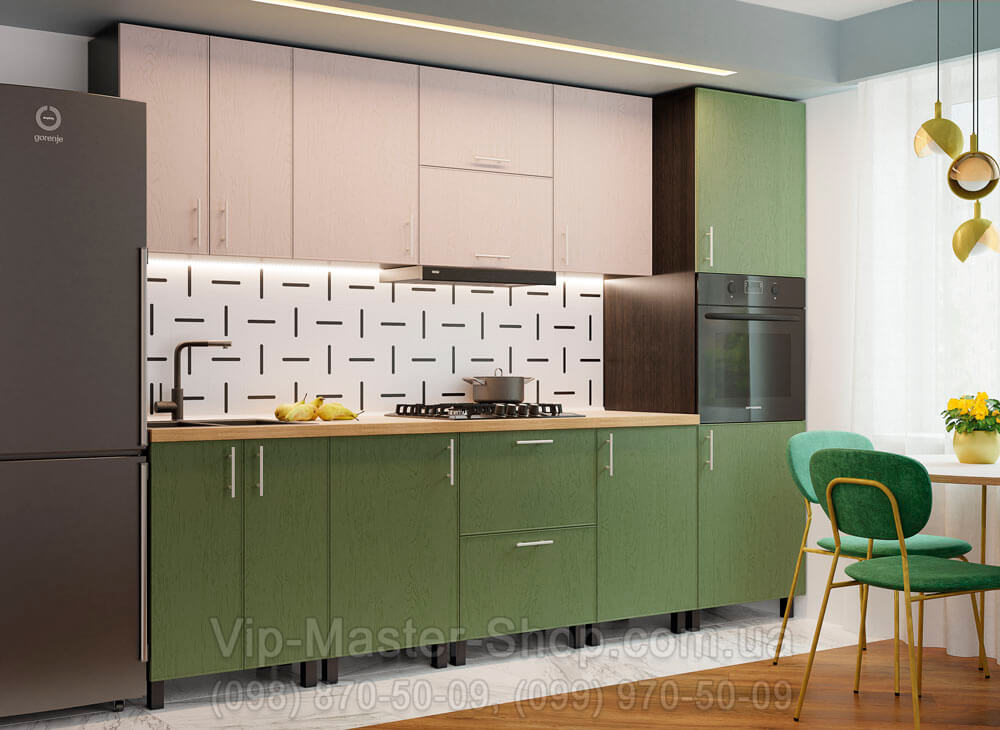 """Кухня """"Соло"""" Темно-зеленый"""