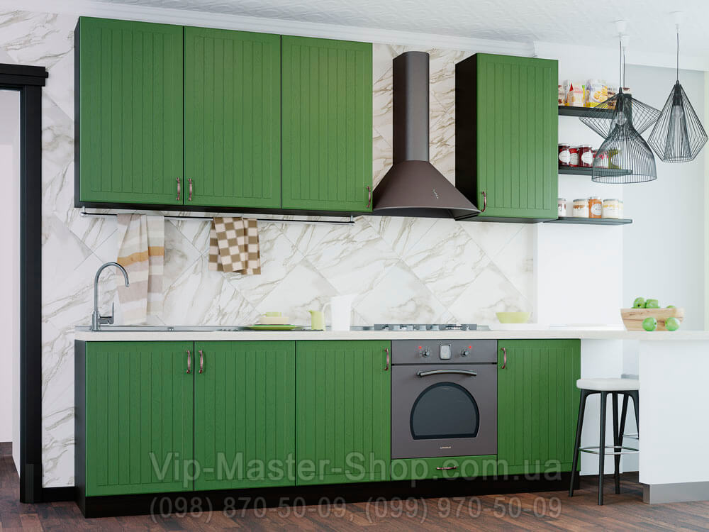 """Кухня """"Верона"""" Темно-зеленый"""