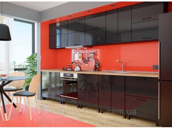 "Кухня ""M. Gloss"" Черный BL"