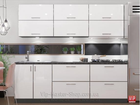 """Кухня """"Mirror Gloss"""" Айс"""