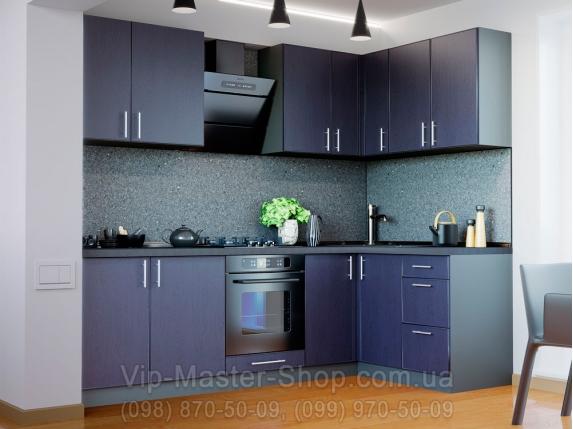 """Кухня """"Соло"""" Темно-синий"""