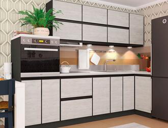 """Фото Кухня """"Альта"""" Дуб крафт белый"""