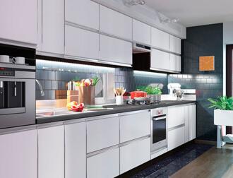 "Фото Кухня ""Альта"" Белый"