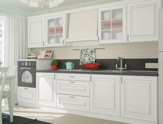 """Фото Кухня """"Amore Classic"""" Белый"""