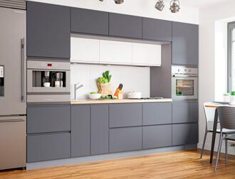 "Фото Кухня ""Interno"" Темно-серый"