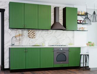 """Фото Кухня """"Верона"""" Темно-зеленый"""