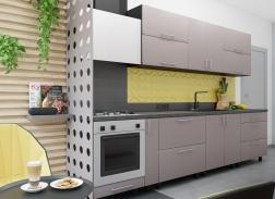 """Кухня """"МоДа"""" Светло-коричневый Матовый"""