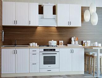 """Фото Кухня """"Верона"""" Белый"""