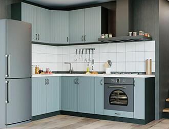 """Фото Кухня """"Верона"""" Серо-зеленый"""