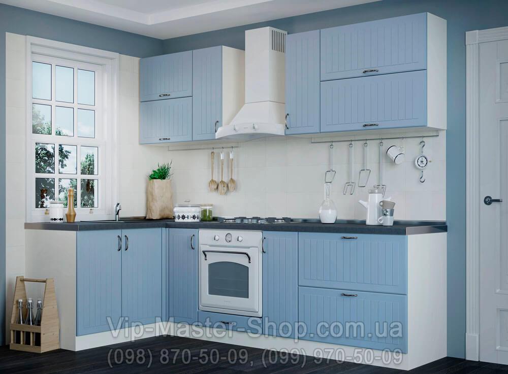 """Кухня """"Верона"""" Серо-голубой"""