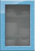 Колор микс голубой витрина металлик