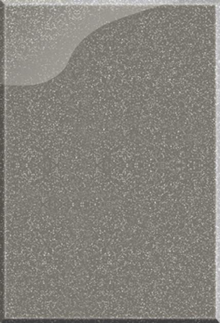 Кухня Мода серый металлик