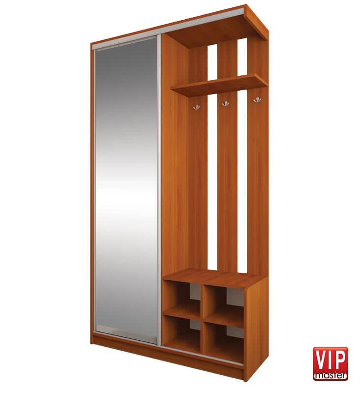 Шкафы-купе Альфа с зеркалом Вип-Мастер