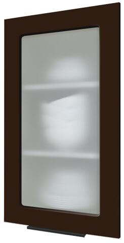 Кухня Flat шоколад