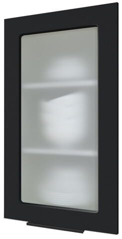 Кухня Flat черный