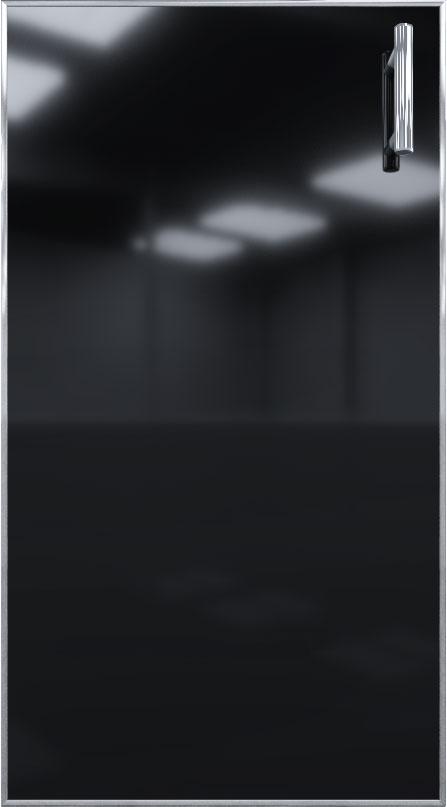 Кухня Mirror Gloss черный